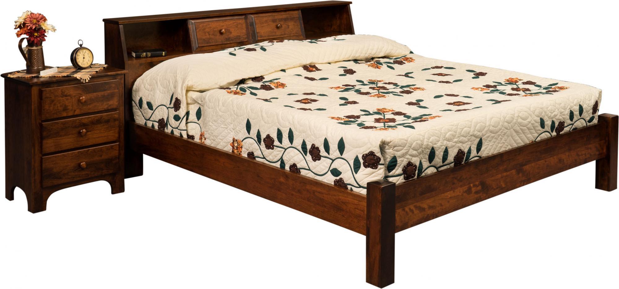 Bookcase Bed Amish Furniture Store Mankato MN