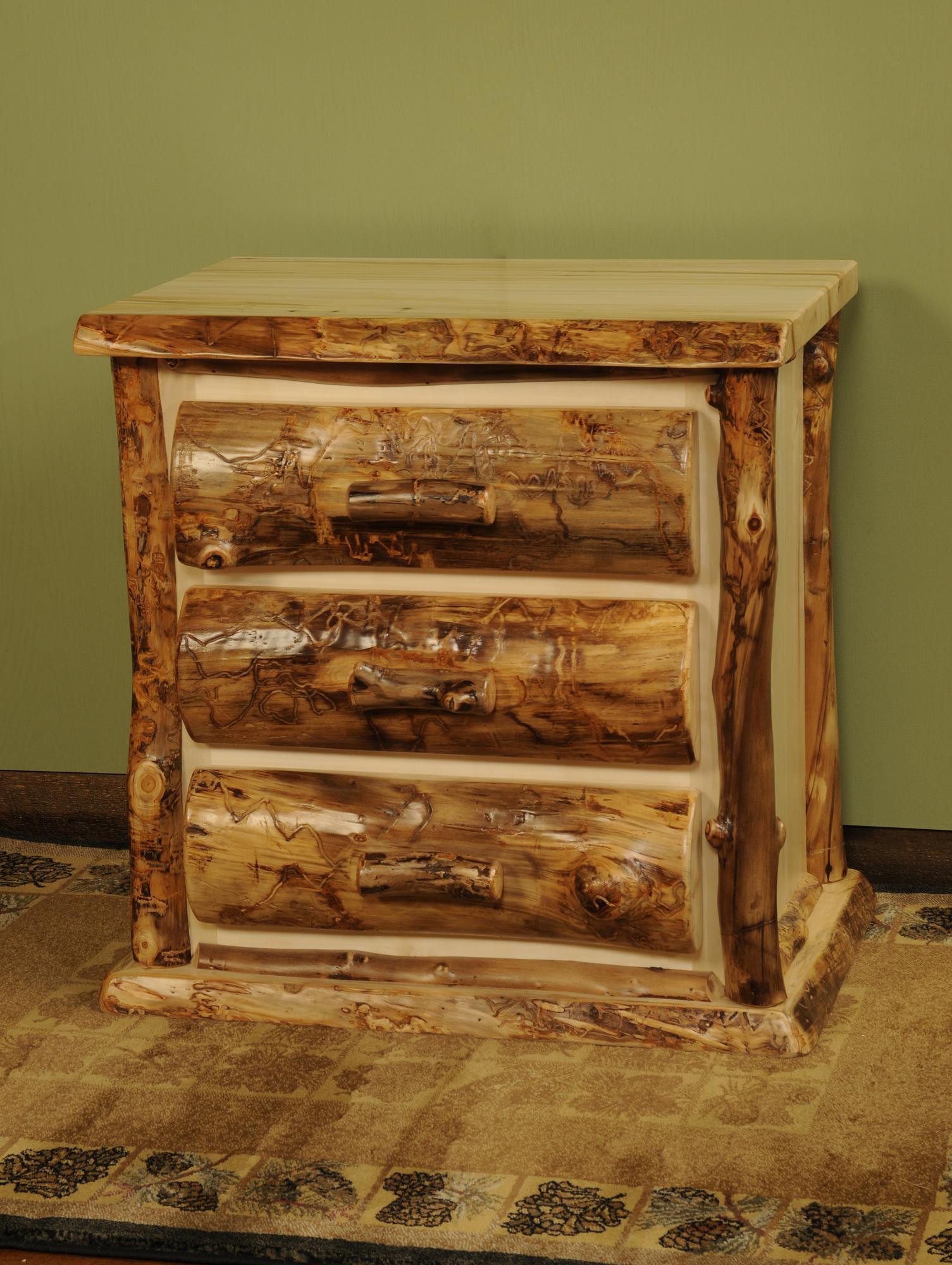 Aspen Nightstands Amish Furniture Store Mankato Mn