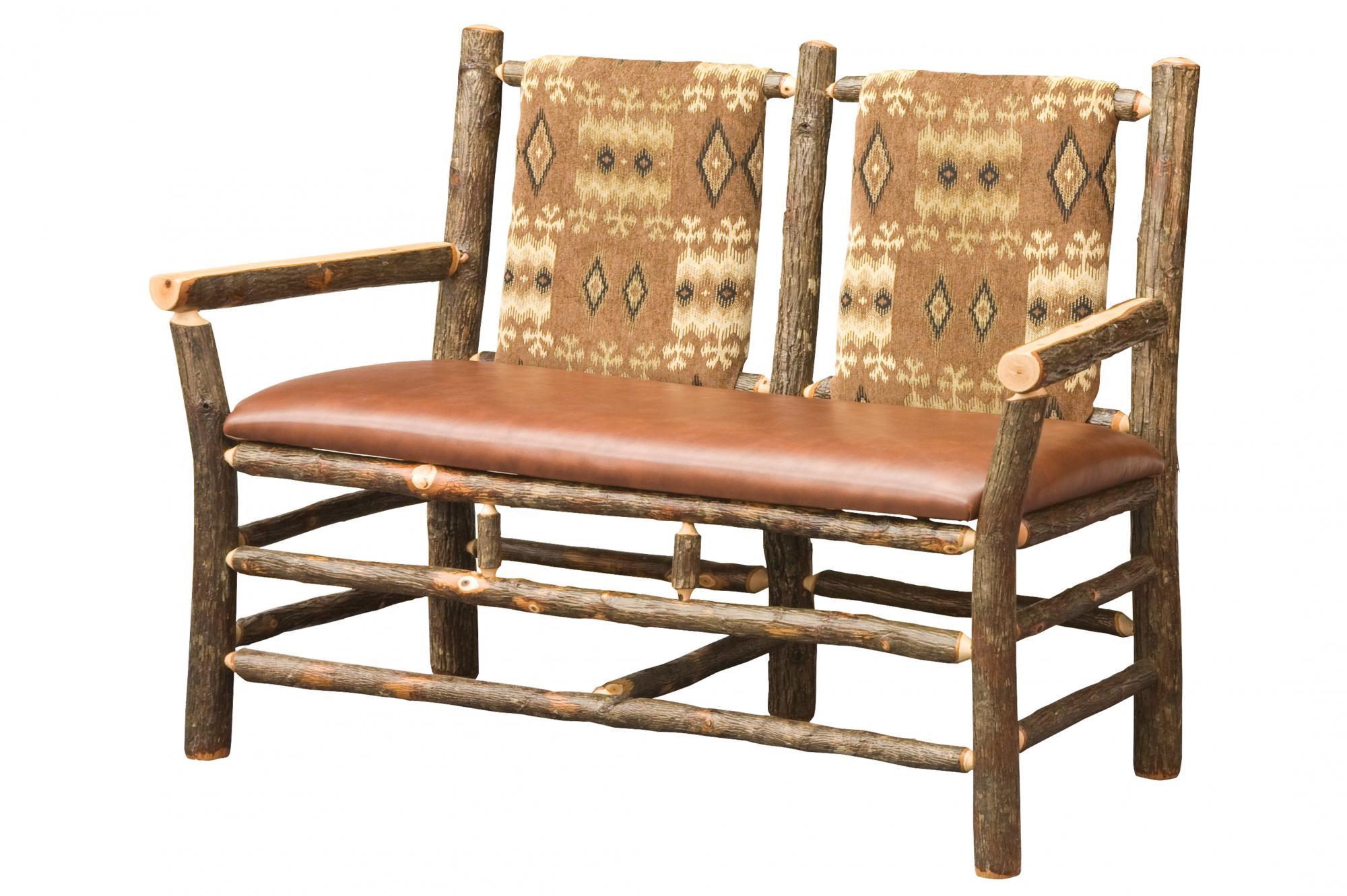 Settee Amish Furniture Store Mankato MN