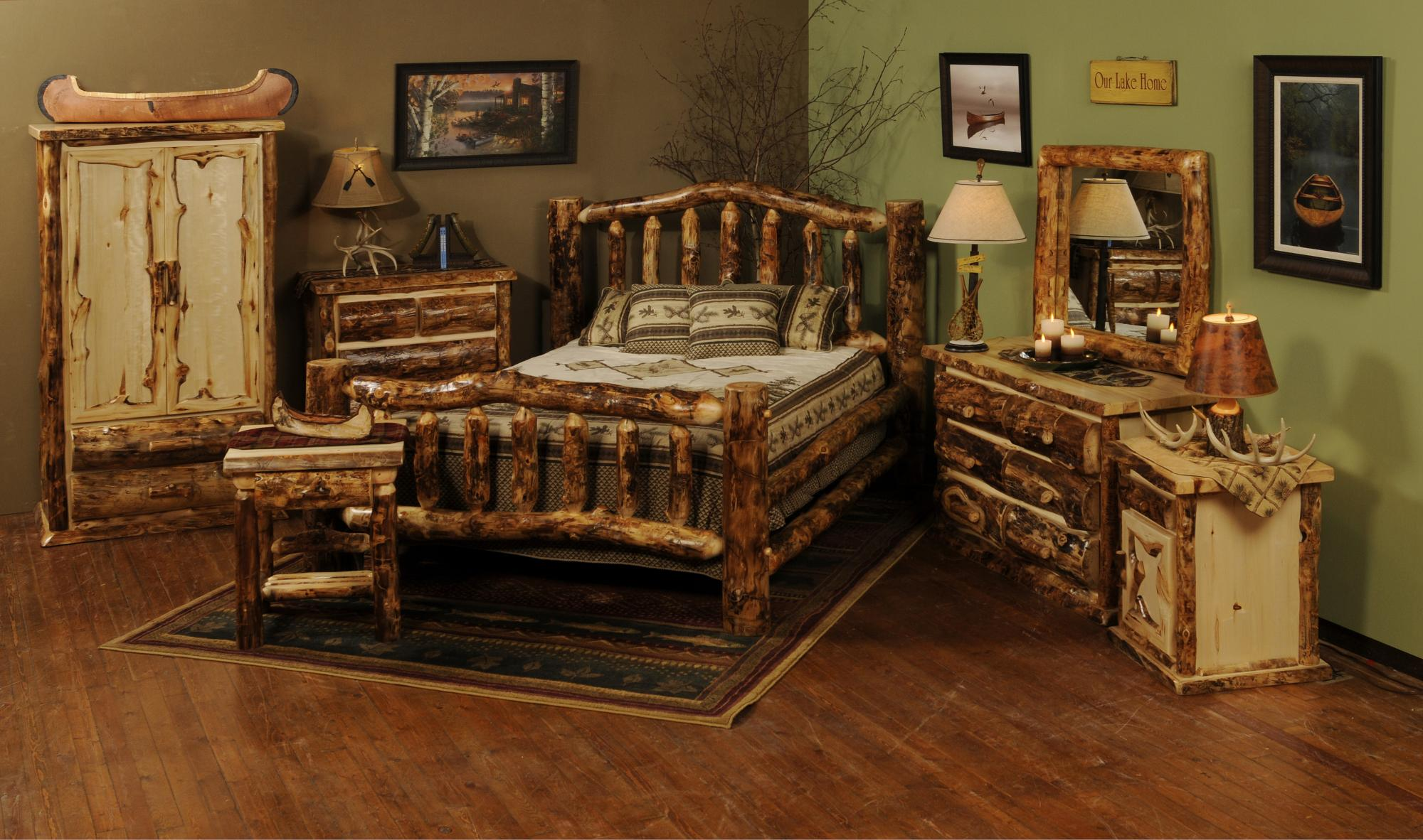 Aspen Extreme Bed Amish Furniture Store Mankato Mn
