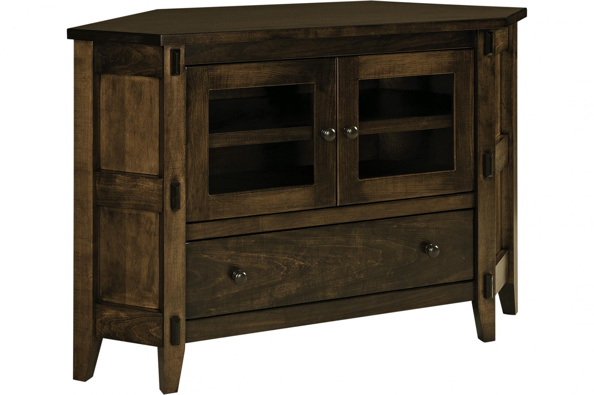 Bungalow Corner Console Amish Furniture Store Mankato Mn