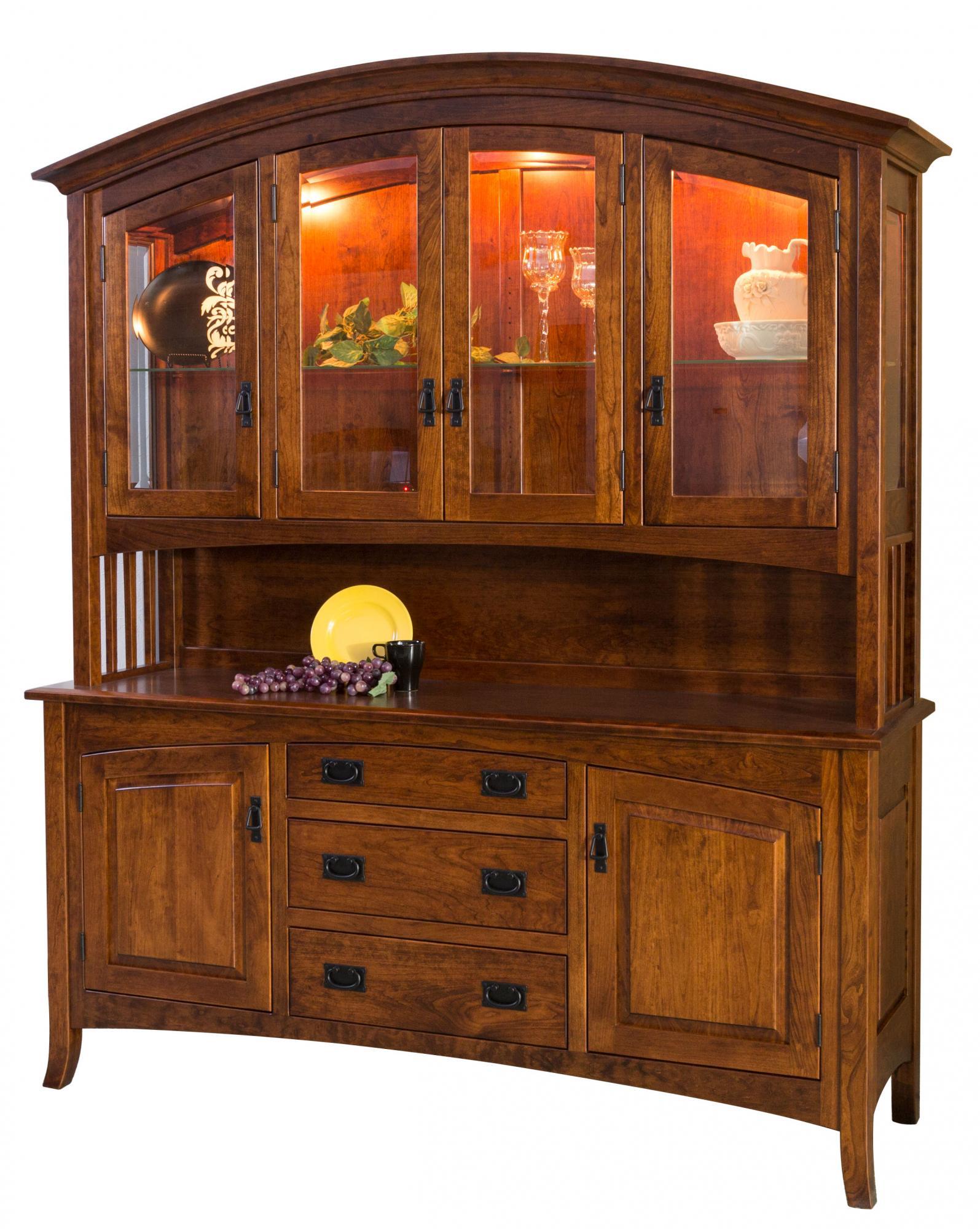 Cambria Hutch Amp Buffet Amish Furniture Store Mankato Mn