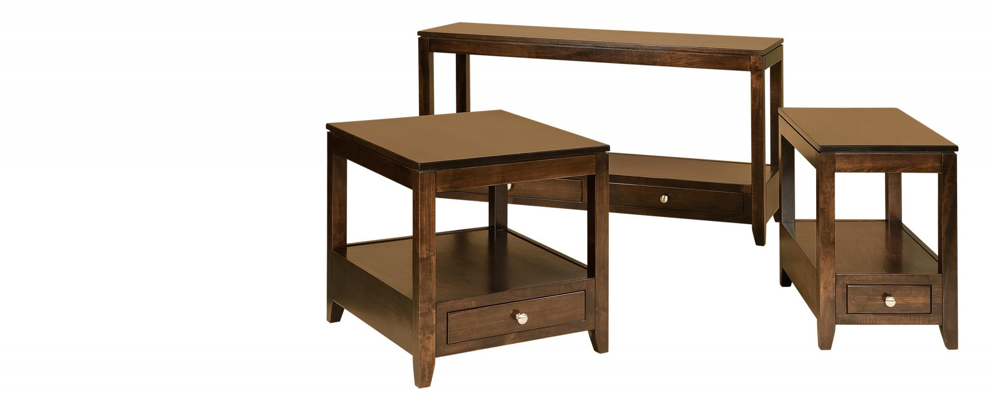 Camden Occasional Tables Amish Furniture Store Mankato Mn