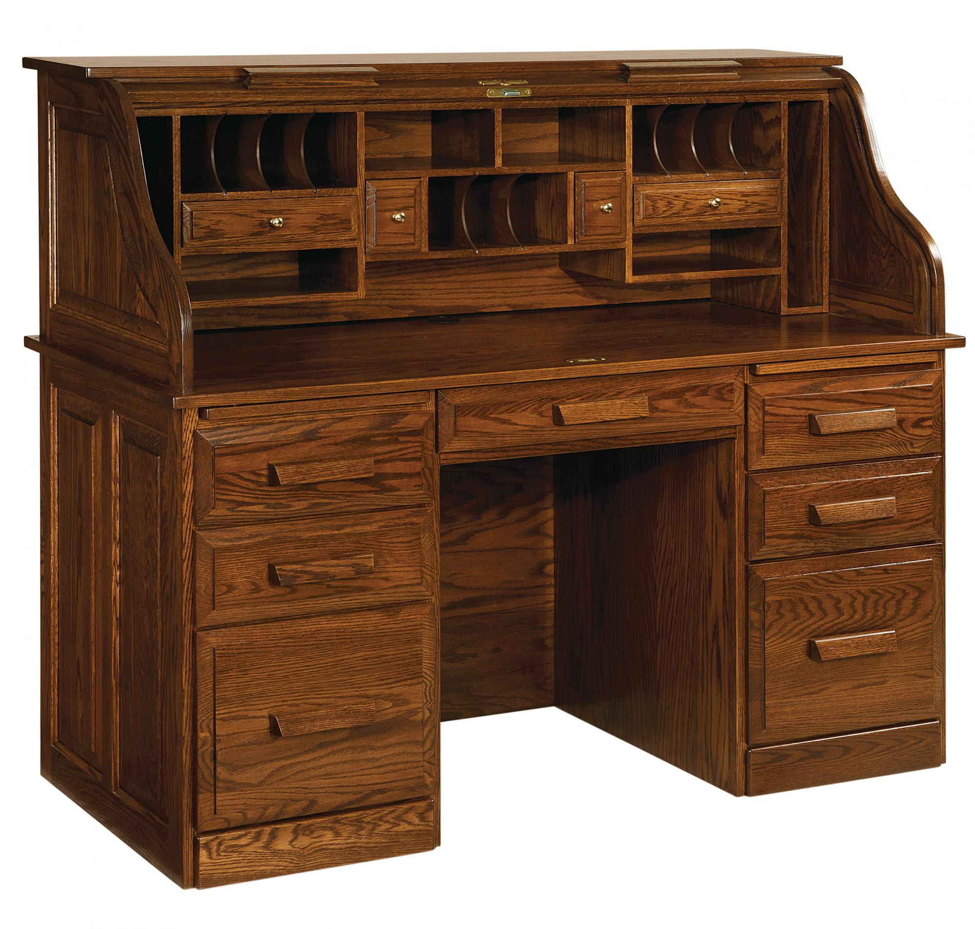 Classic Farmer S Roll Top Desk Amish Furniture Store