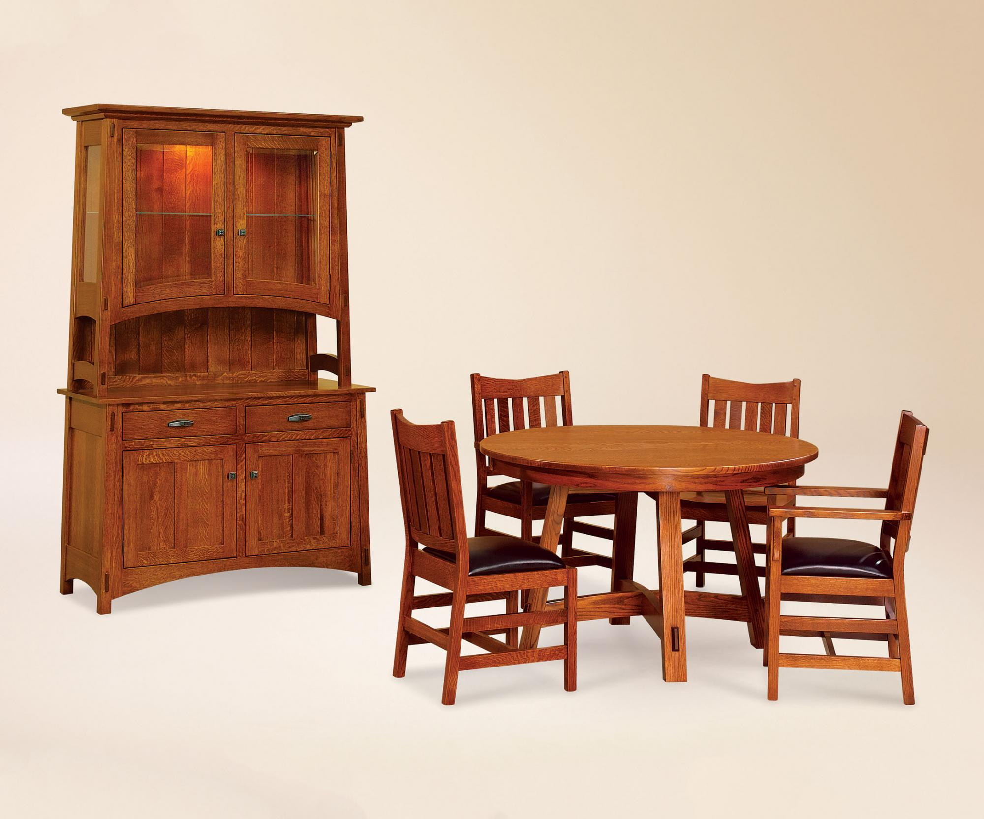 Collbran Hutch Amish Furniture Store Mankato Mn
