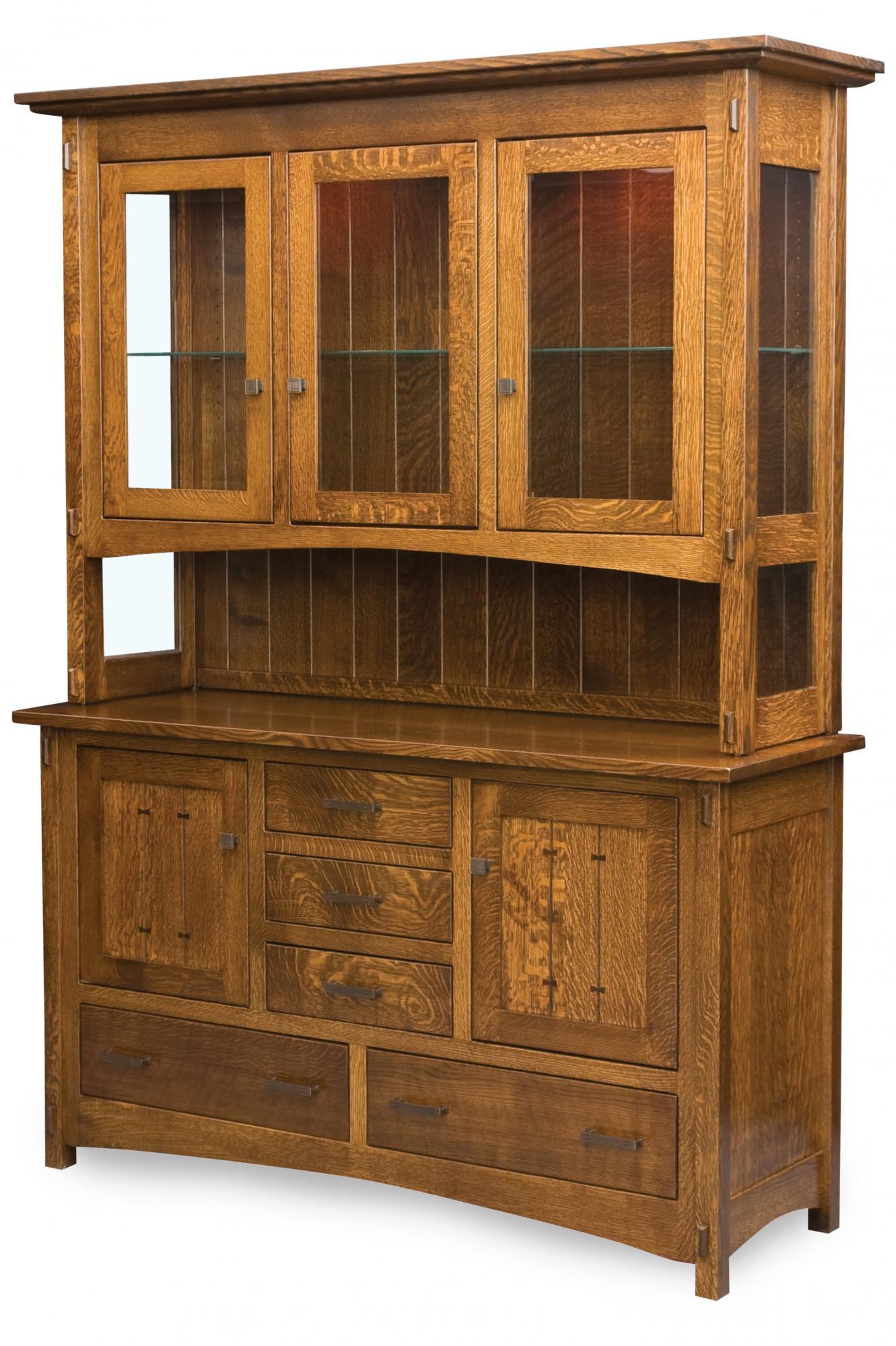 Crestline Hutch Amish Furniture Store Mankato Mn