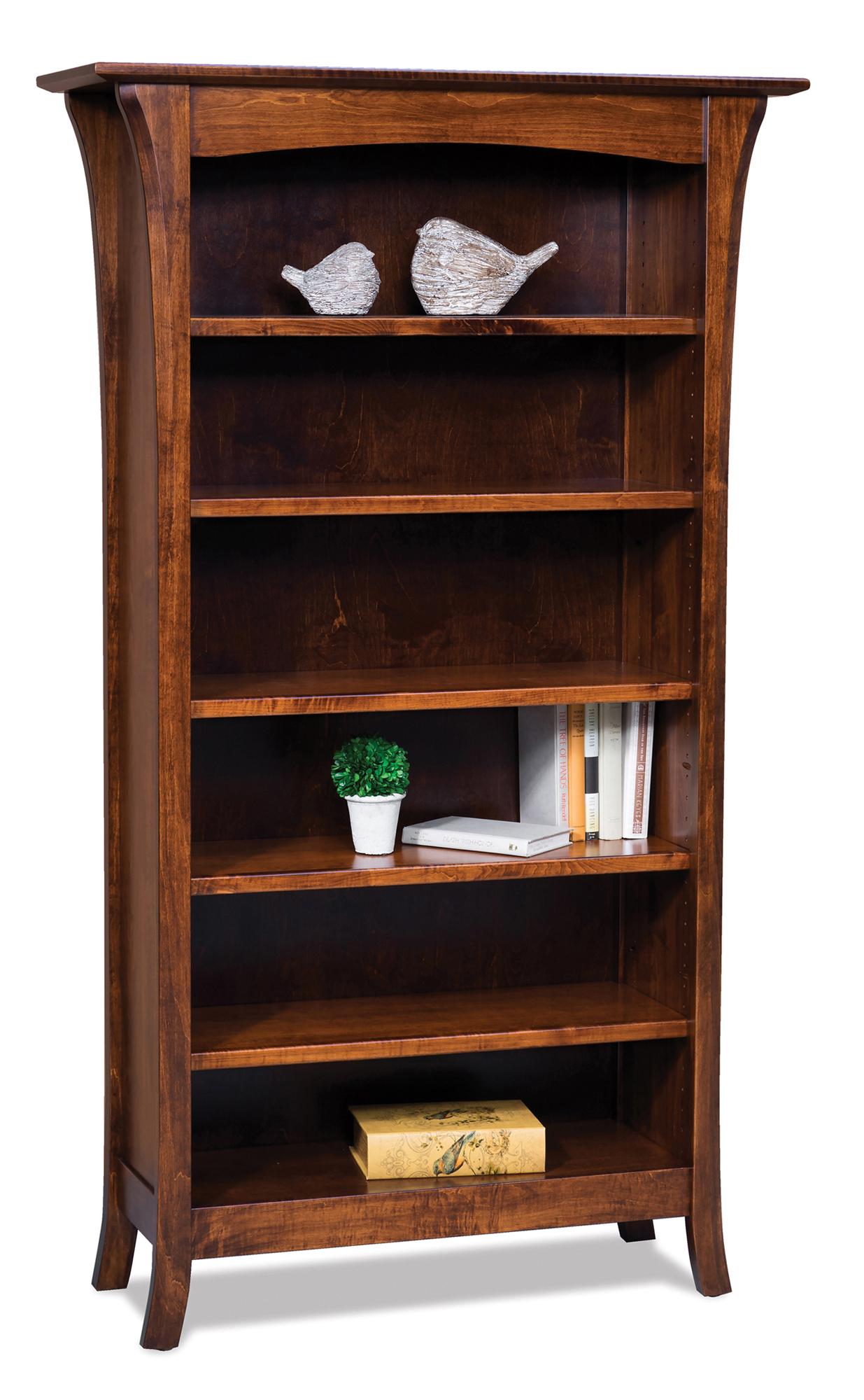 Ensenada Bookcases Amish Furniture Store Mankato Mn