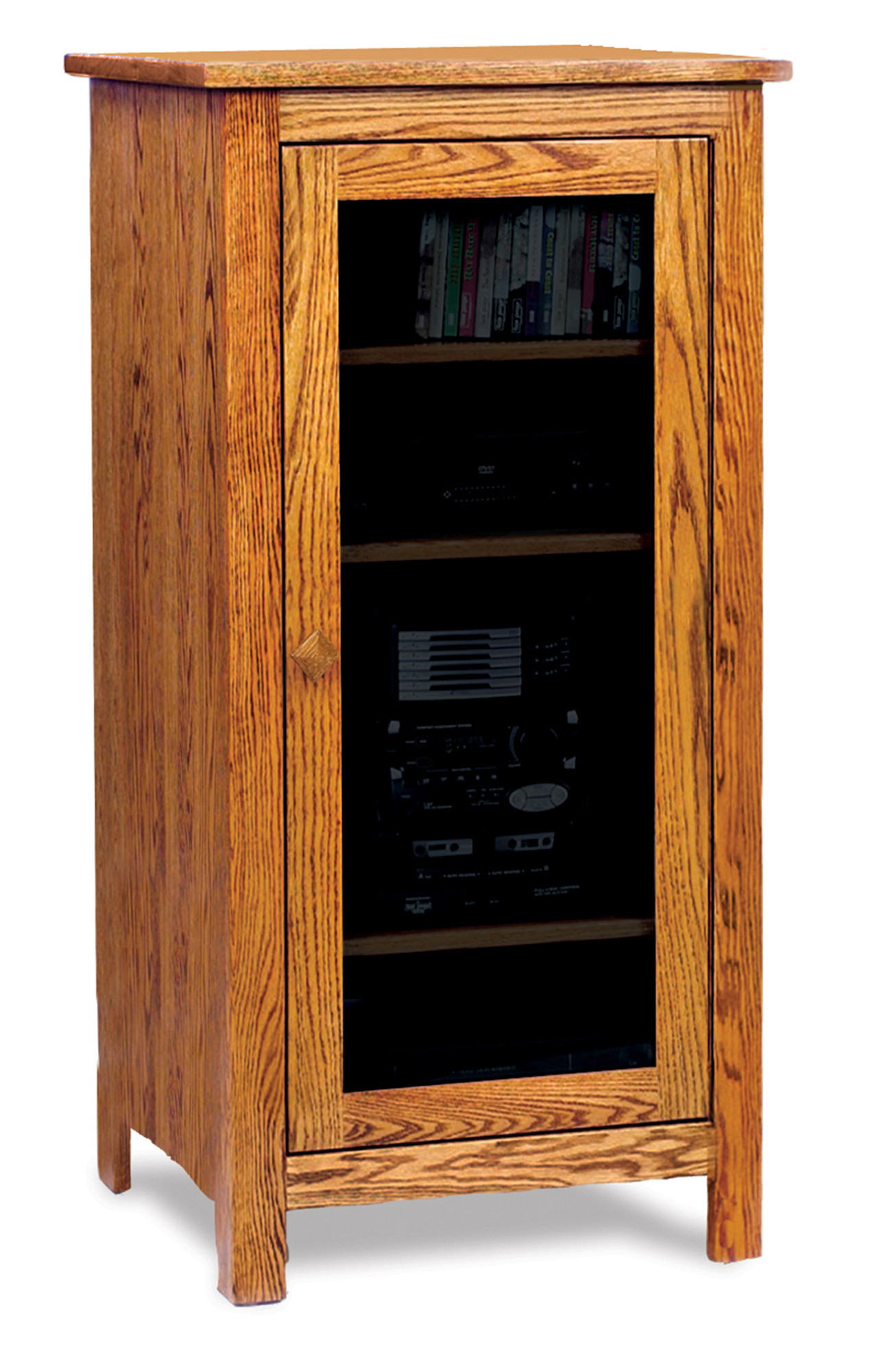 Mission Stereo Cabinet Amish Furniture Store Mankato Mn