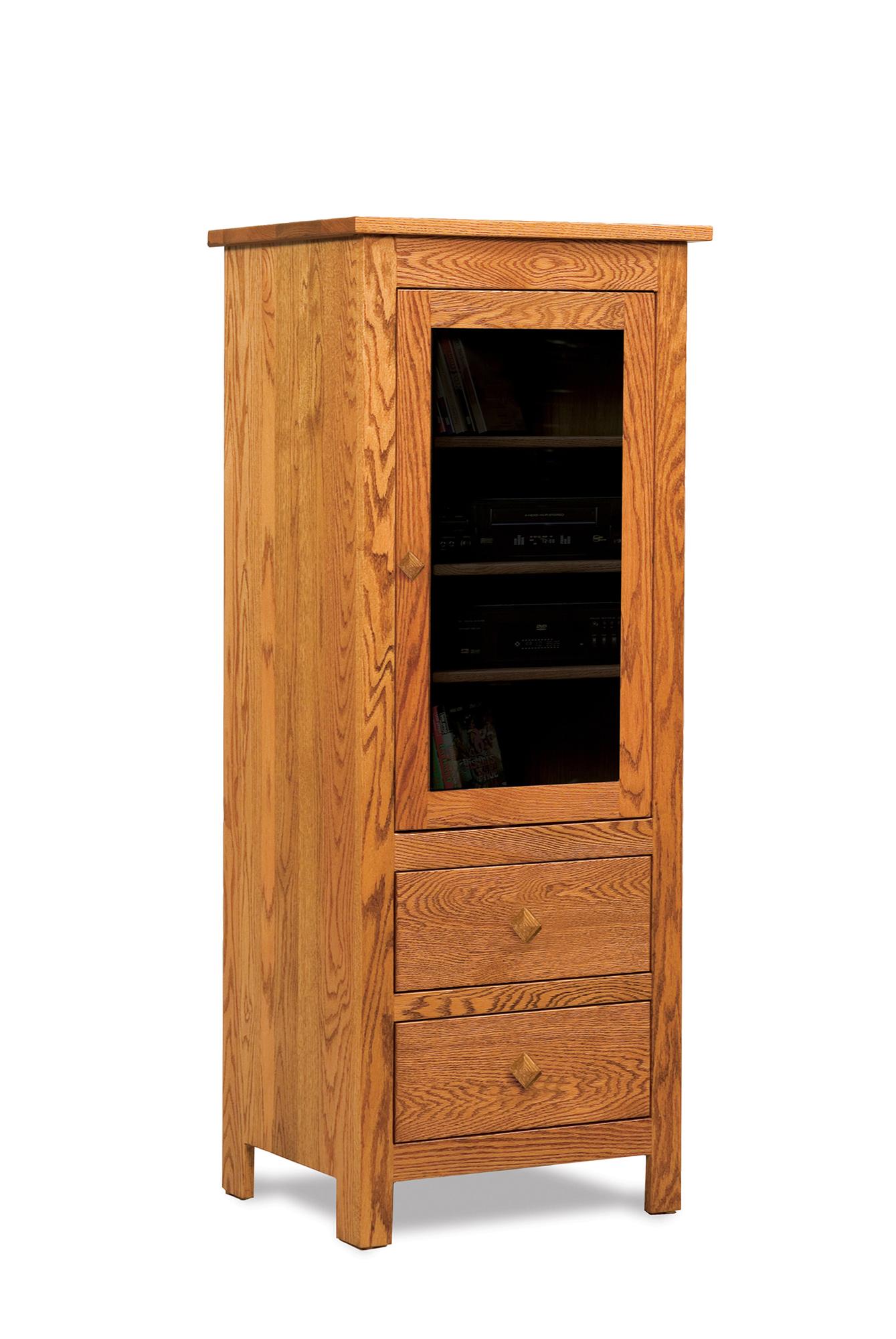 Mission Stereo Cabinet Amish Furniture Store Mankato MN