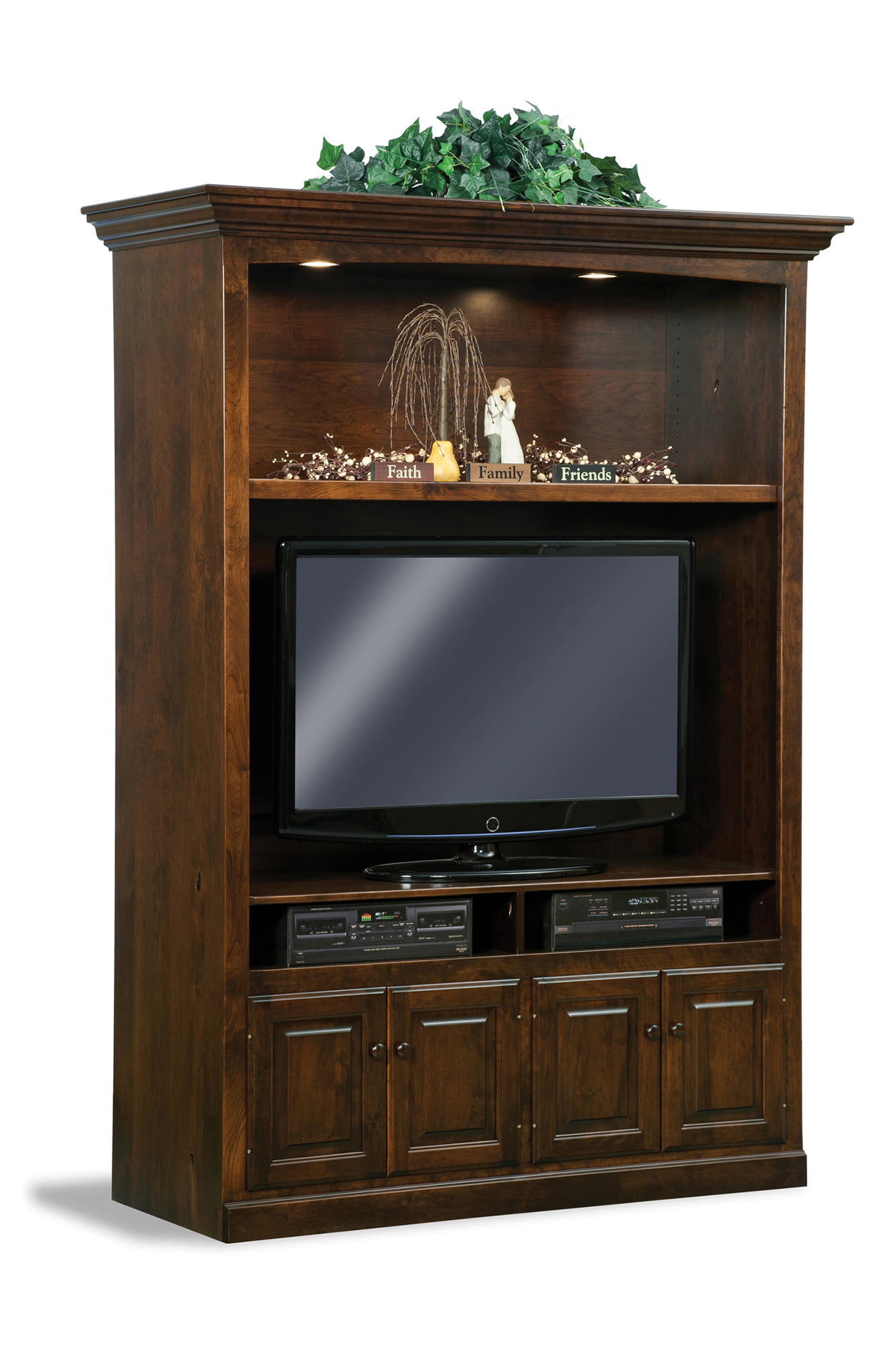 Living Room Design Games: Victorian Home Theater Wall Unit