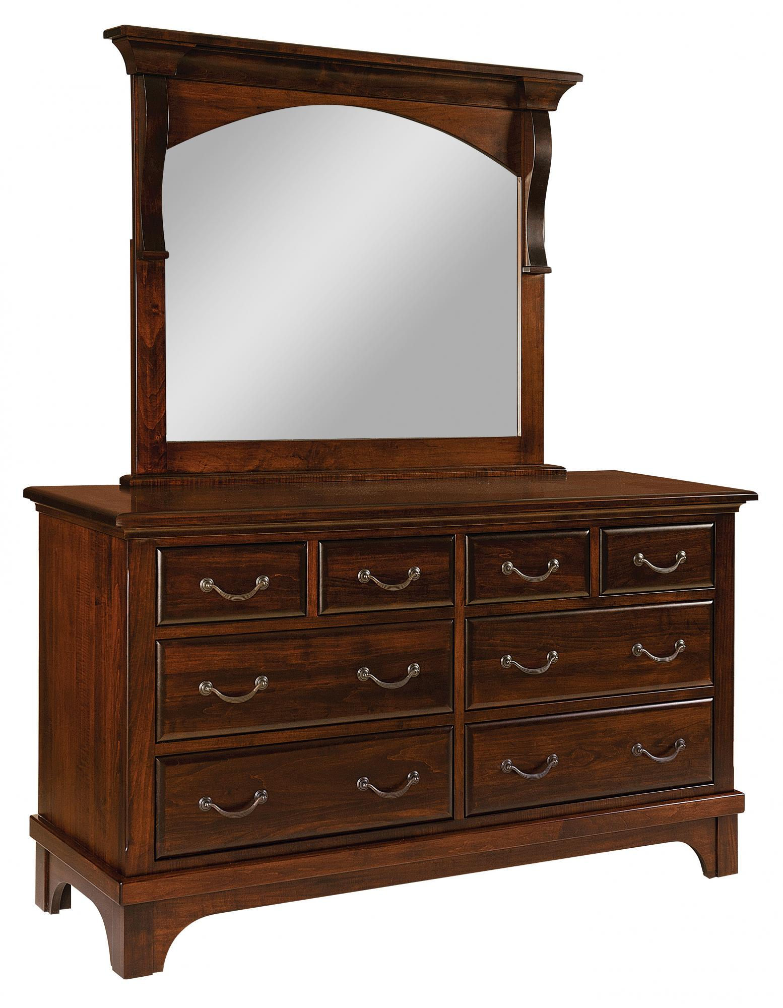 Hamilton Court 8 Drawer Dresser Amish Furniture Store Mankato MN
