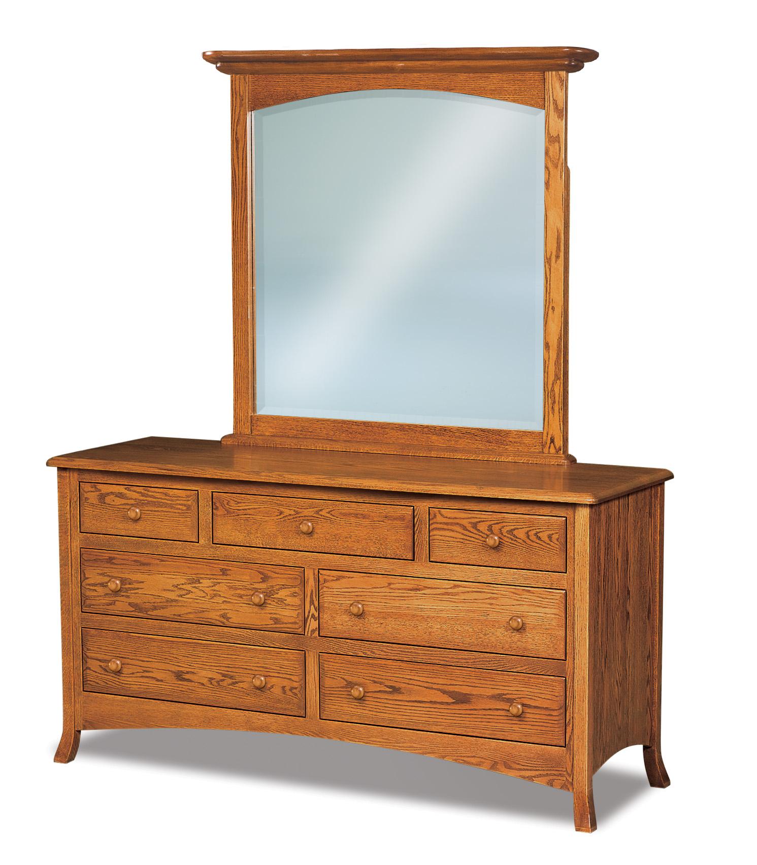 Carlisle 7 Drawer Dressers Amish Furniture Store Mankato Mn