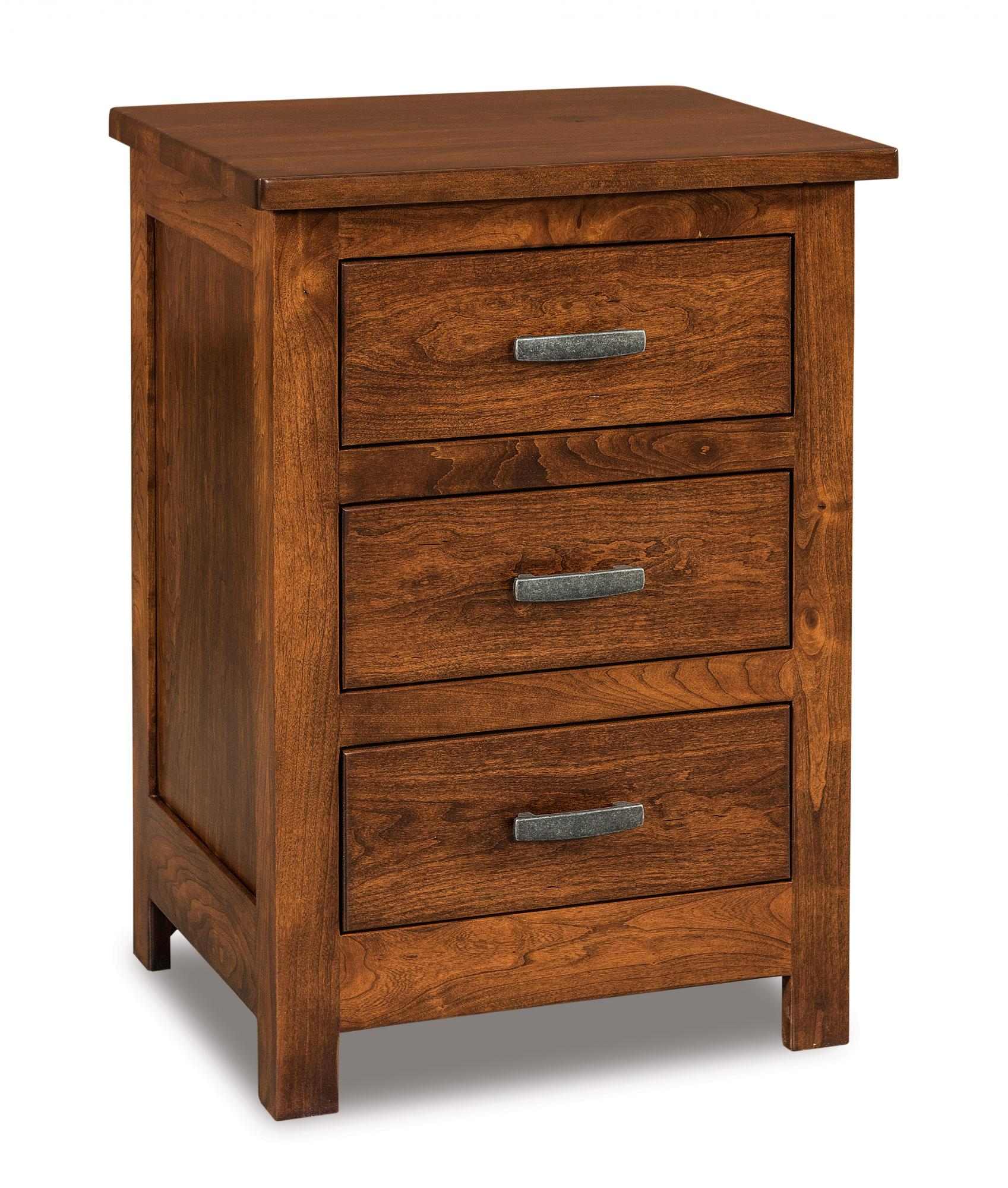3 drawer nightstand tall amish furniture store mankato mn How tall is a nightstand