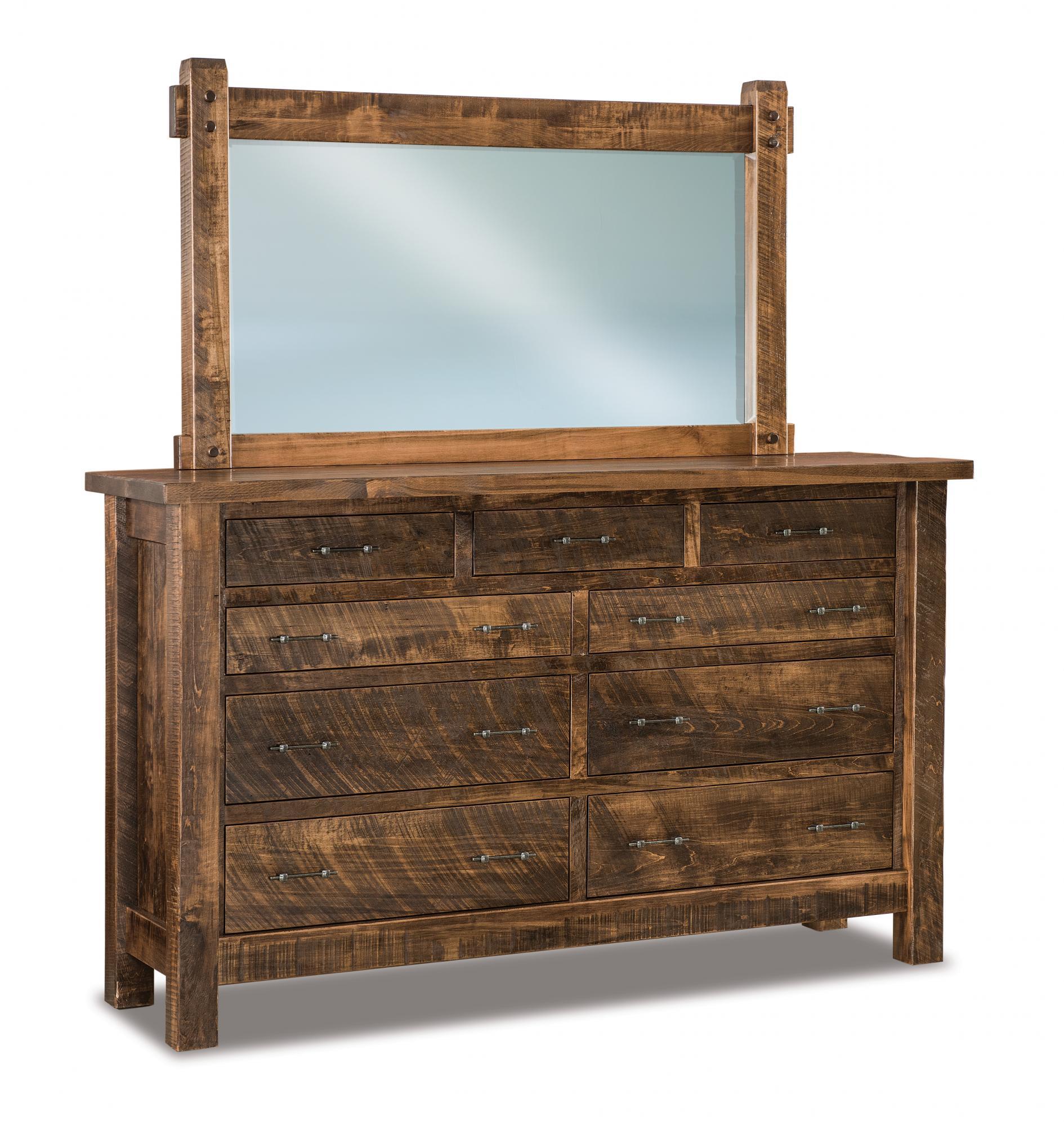 Houston 9 Drawer Dressers Amish Furniture Store