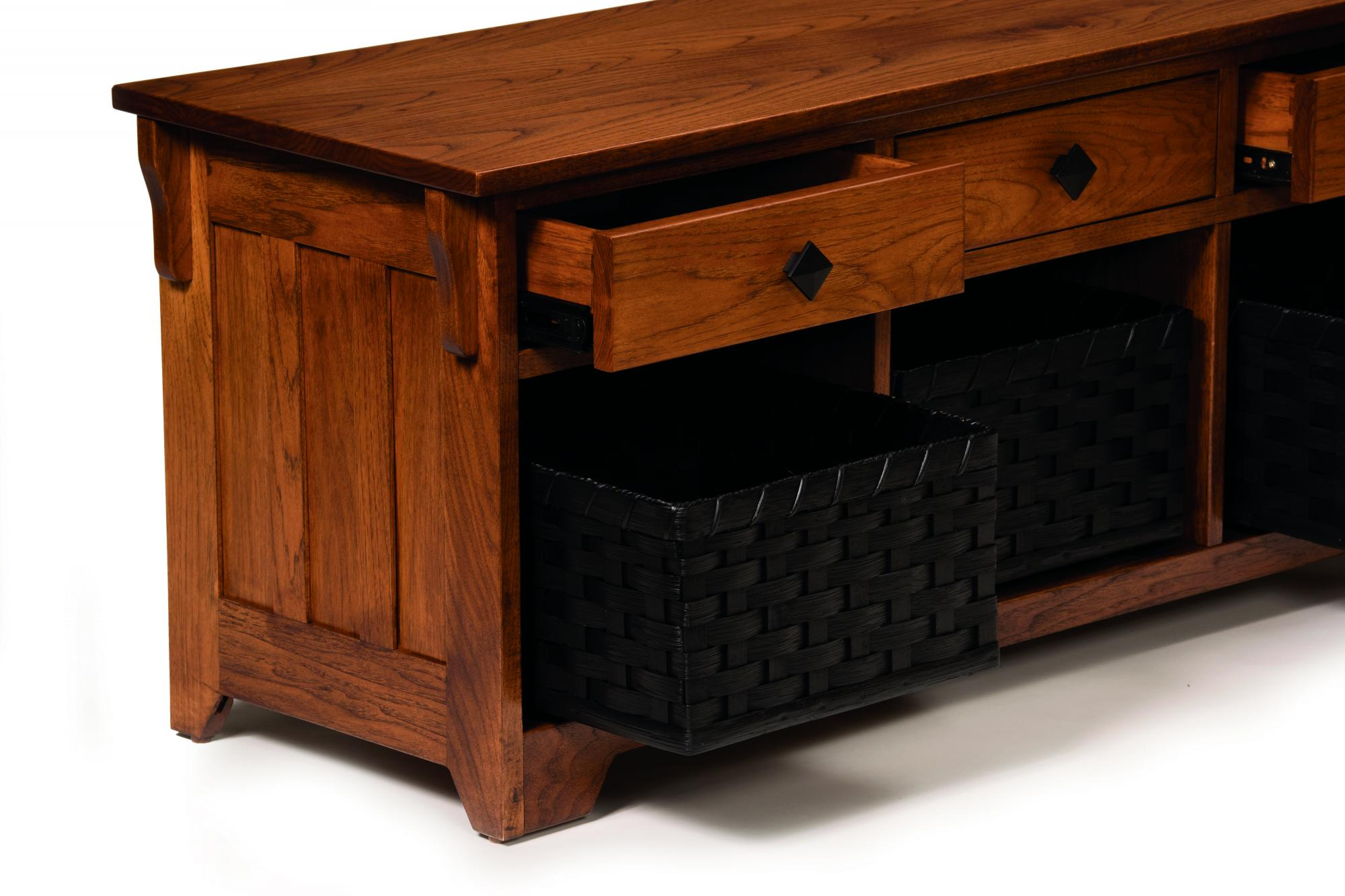 Lattice Weave Drawer Amish Furniture Store Mankato Mn