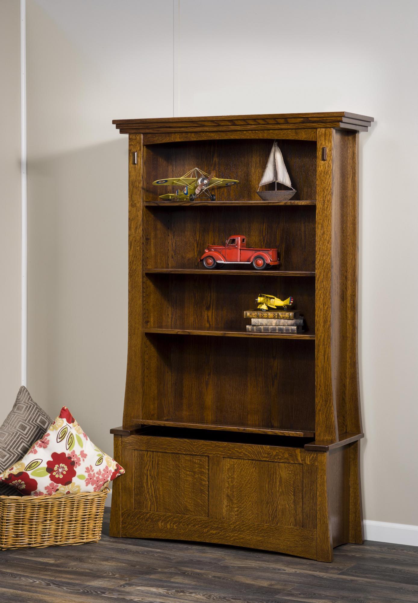Modesto Bookcase Amish Furniture Store Mankato Mn