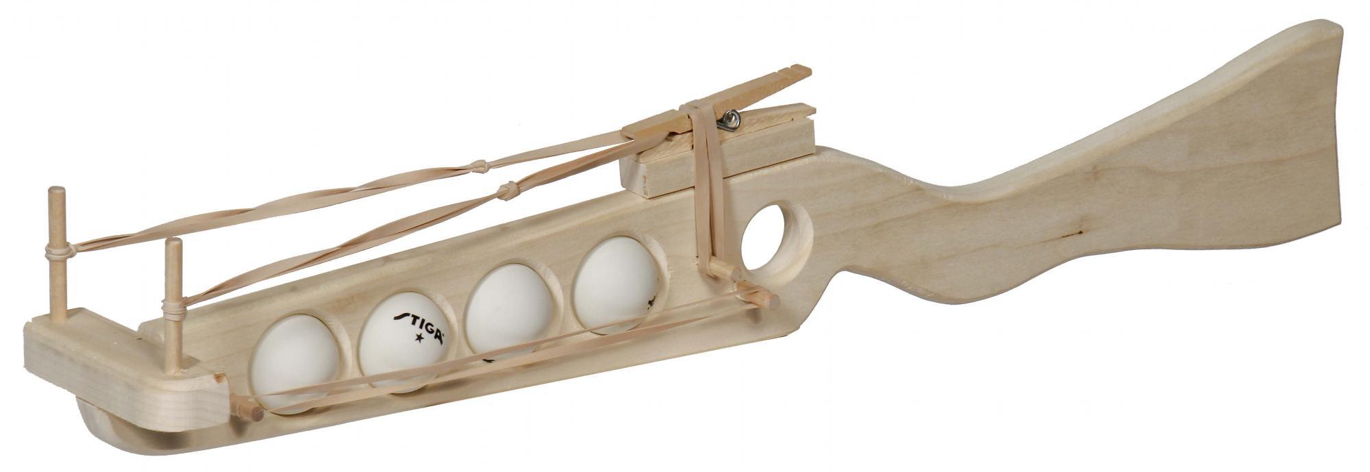 Rubber Band And Ping Pong Ball Guns Amish Furniture
