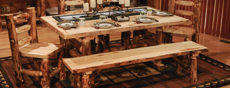 Aspen Dining Room Amish Furniture for Mankato MN