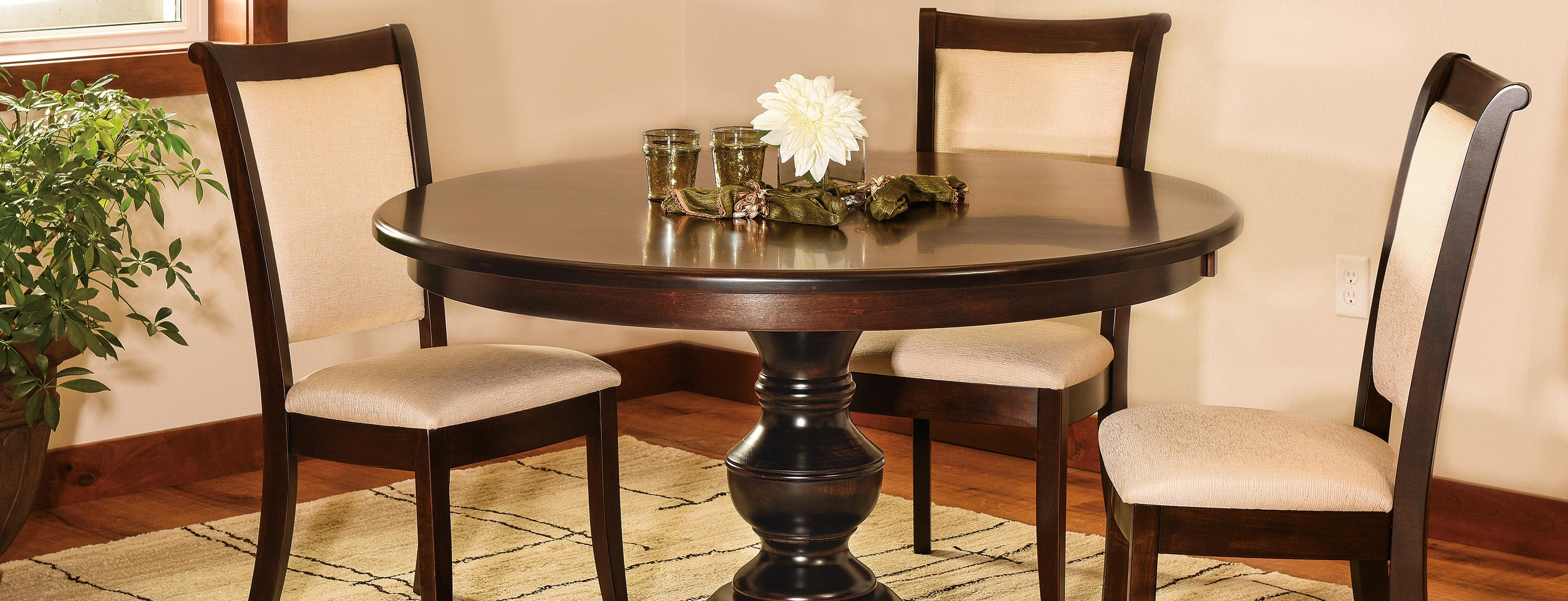 Remarkable Pedestal Tables Amish Furniture For Mankato Mn Home Interior And Landscaping Mentranervesignezvosmurscom