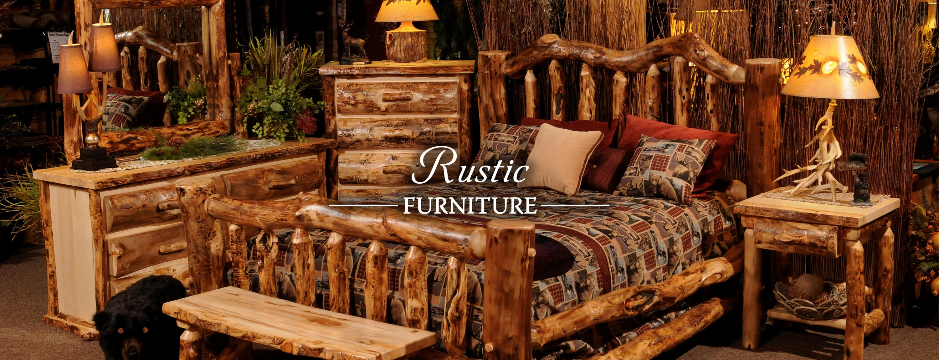Rustic Bedroom Setup · Bedroom Furniture