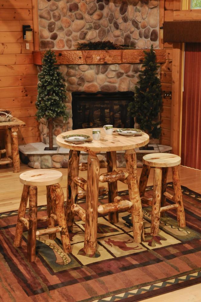 Aspen Round Pub Table