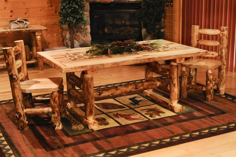 Incredible Aspen Dining Table Amish Furniture Store Mankato Mn Home Interior And Landscaping Mentranervesignezvosmurscom
