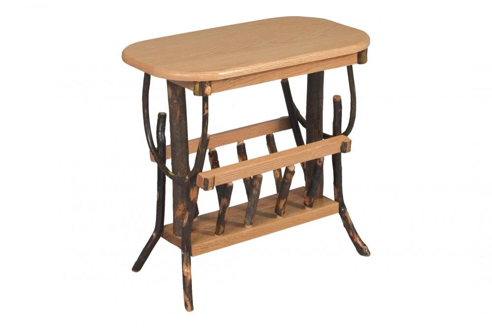 Magazine Rack & End Tables