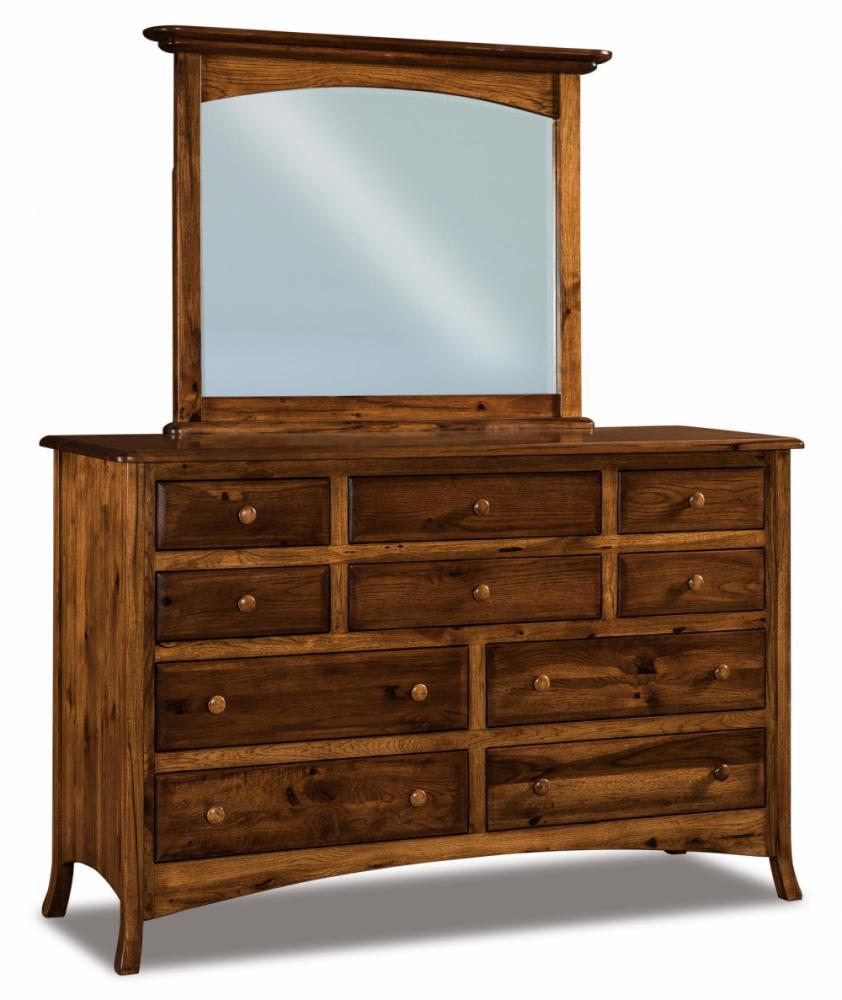 10 Drawer Dresser Amish Furniture Store Mankato Mn