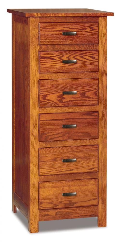 Flush Mission 6 Drawer Lingerie Chest Amish Furniture Store Mankato Mn