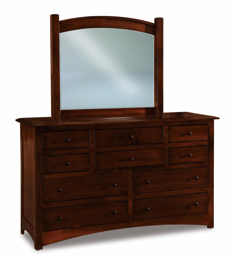 Finland 10 Drawer Dresser Amish Furniture Store