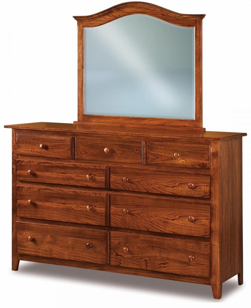 9 Drawer Dressers Amish Furniture Store Mankato MN