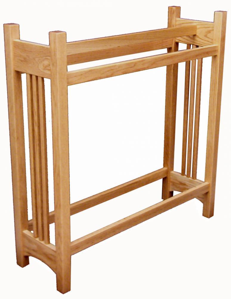 Mission Quilt Rack Amish Furniture Store Mankato Mn