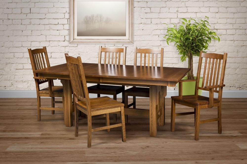 Phenomenal Mission Dining Chair Amish Furniture Store Mankato Mn Home Interior And Landscaping Mentranervesignezvosmurscom
