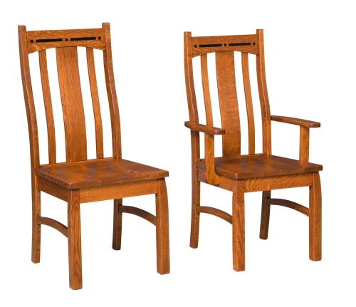 Chairs Amish Furniture For Mankato Mn