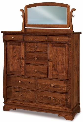 His and Hers Chest. Chippewa Sleigh   Amish Furniture for Mankato MN