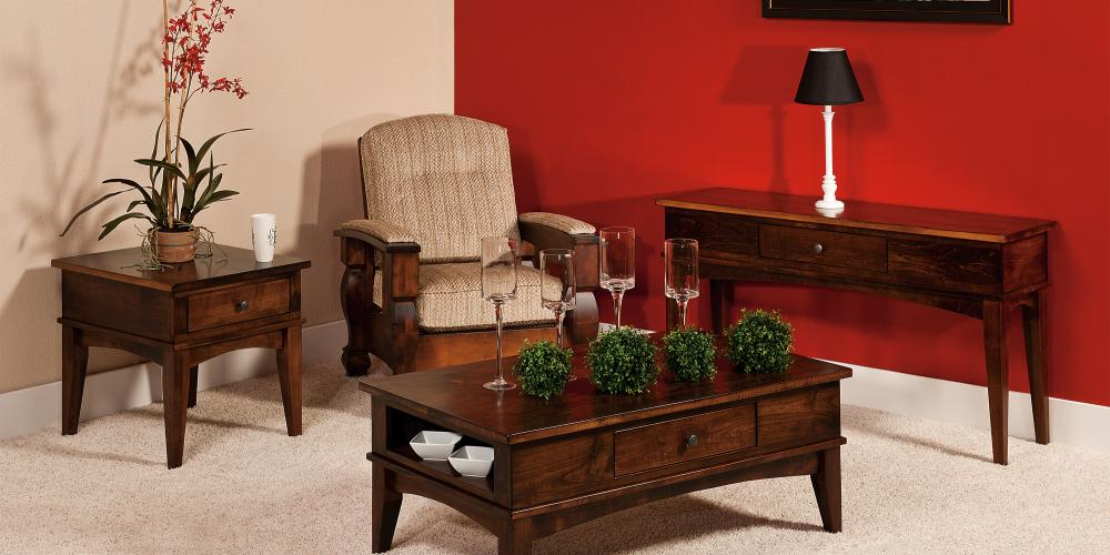 Amarillo Occasional Tables Amish Furniture Store Mankato Mn