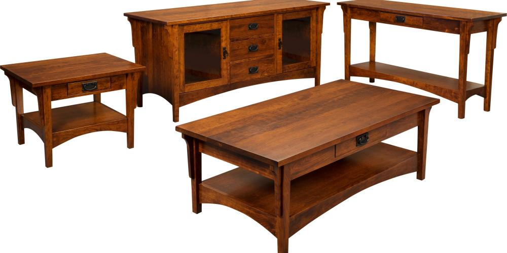 Arts Crafts Occasional Tables Amish Furniture Store Mankato MN