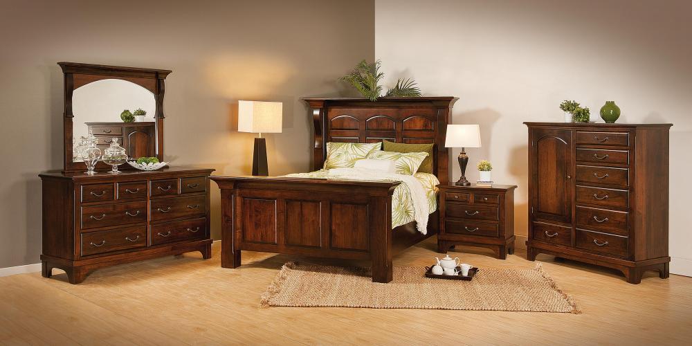 Hamilton Court 4 Drawer Nightstand Amish Furniture Store Mankato MN